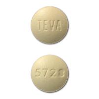 TEVA 5728 Pill - famotidine 20 mg