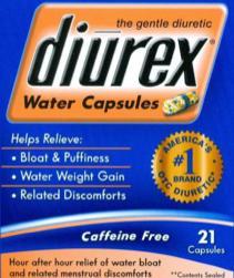 ALVA Pill - Diurex Water Capsules pamabrom 50 mg