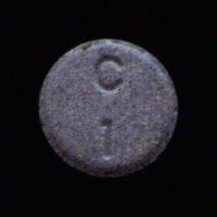 C 1 Pill - clonazepam 1 mg
