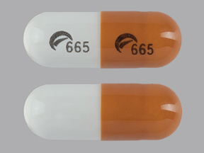 Logo 665 Logo 665 Pill - gabapentin 100 mg
