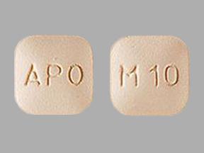 APO M10 Pill - montelukast 10 mg (base)