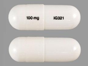 100 mg IG321 Pill - gabapentin 100 mg
