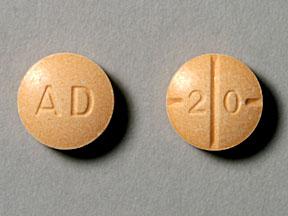 AD 2 0 Pill - Adderall 20 mg