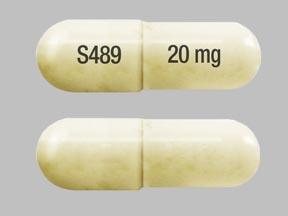 S489 20 mg Pill - Vyvanse 20 mg