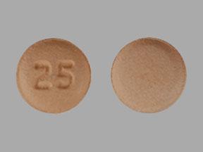 25 Pill - quetiapine 25 mg