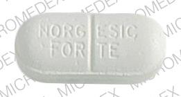 3M NORGESIC FORTE Pill - Norgesic Forte 770 mg / 60 mg / 50 mg