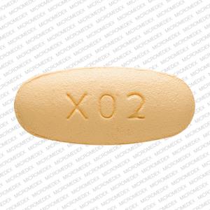 LU X02 Pill - levetiracetam 500 mg
