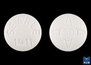 SEARLE 1411 AAAA 50 Pill - Arthrotec 50 mg / 200 mcg