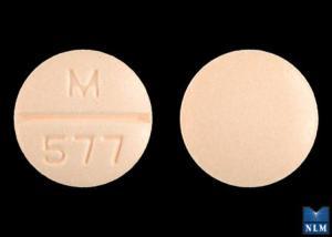 M 577 Pill - amiloride/hydrochlorothiazide 5 mg / 50 mg