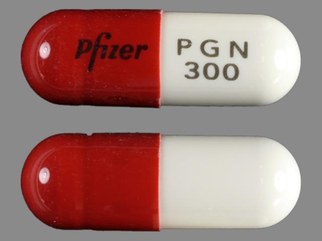 Pfizer PGN 300 Pill - Lyrica 300 mg