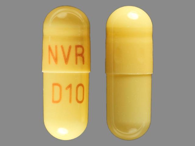 NVR D10 Pill - Focalin XR 10 mg