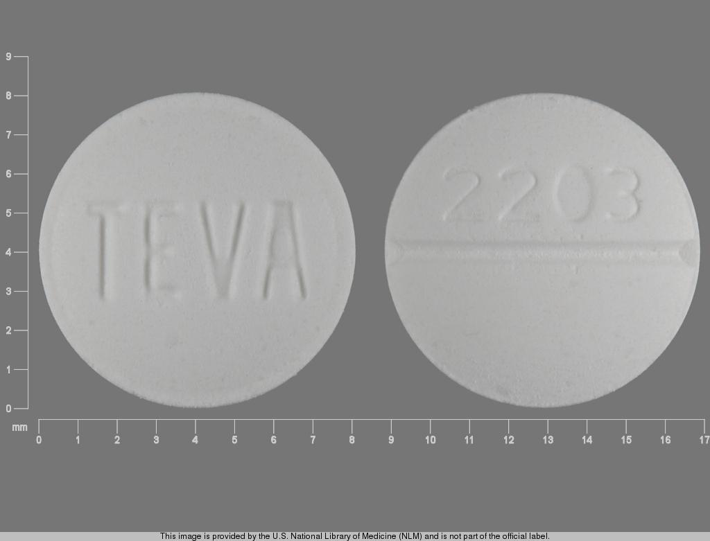 TEVA 2203 Pill - metoclopramide 10 mg