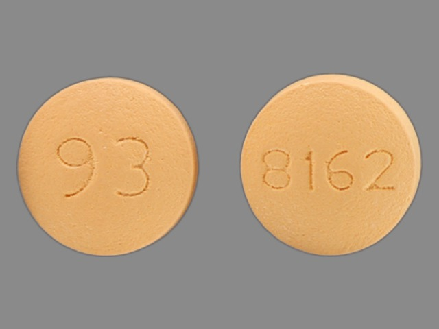 Pictures for Yellow Round Pill Imprint LU Y17