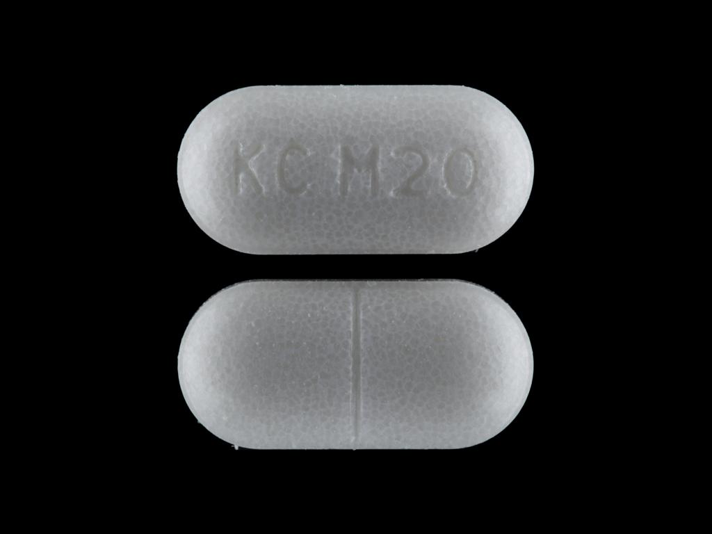 KC M20 Pill - Klor-Con M20 20 mEq