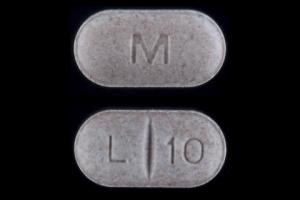 M L 10 Pill - levothyroxine 125 mcg (0.125 mg)