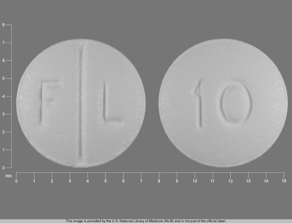 F L 10 Pill - Lexapro 10 mg