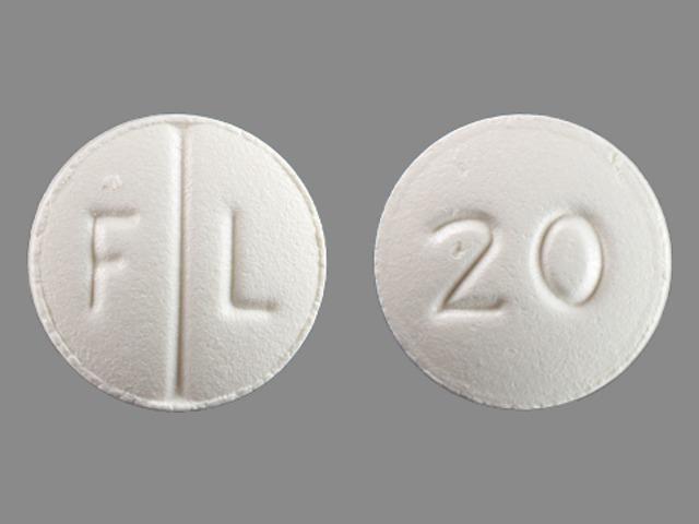 F L 20 Pill - Lexapro 20 mg