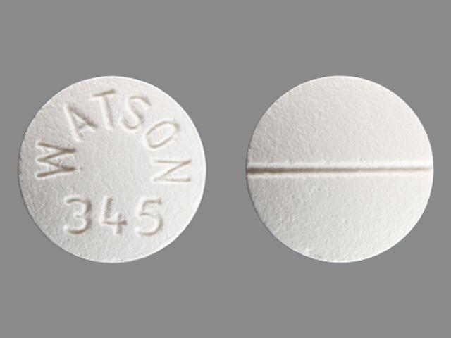 WATSON 345 Pill - verapamil 120 mg