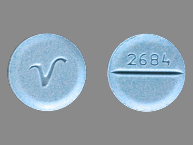 V Blue - Pill Identification Wizard | Drugs.com
