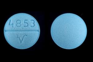 4853 V Pill - oxybutynin 5 mg