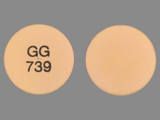 GG 739 Pill - diclofenac 75 mg