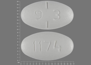 9 3 1174 Pill - penicillin v potassium 500 mg