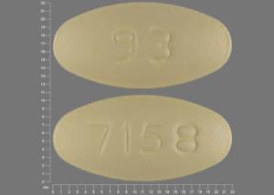 93 7158 Pill - clarithromycin 500 mg