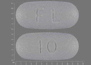 10 FL Pill - Namenda 10 mg