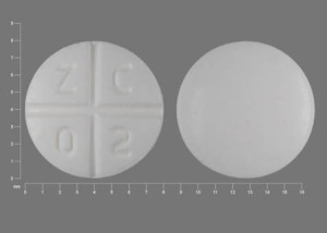 Z C 0 2 Pill - promethazine 25 mg