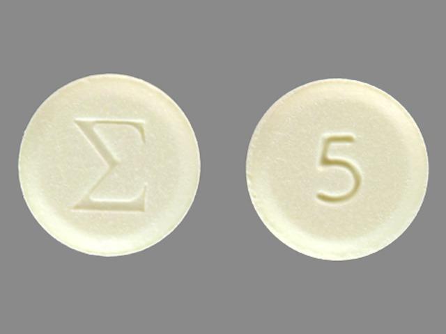 Logo (E) 5 Pill - amiloride 5 mg
