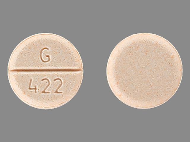 G 422 Pill - midodrine 5 mg