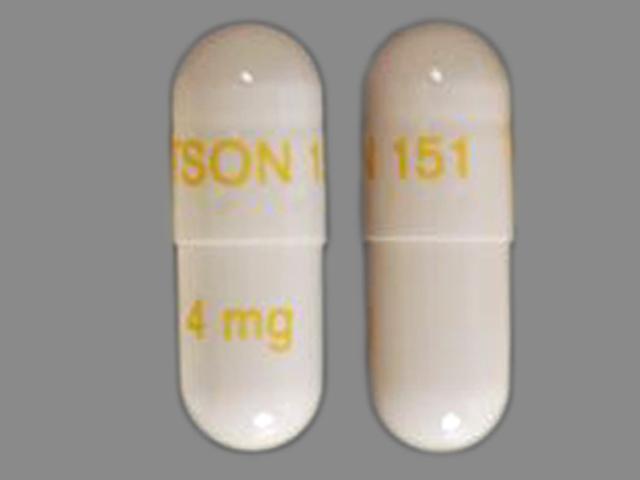 WATSON 151 4 mg Pill - Rapaflo 4 mg