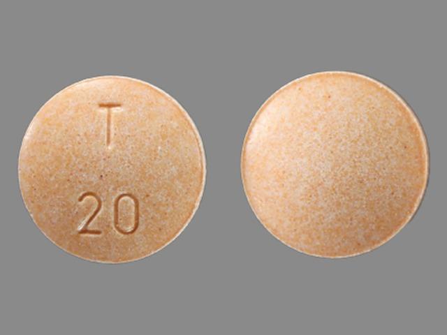 T 20 Pill - enalapril 20 mg