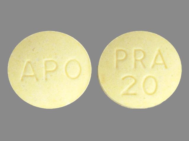 APO PRA 20 Pill - pravastatin 20 mg