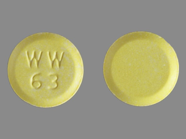 E 63 Yellow And Round - Pill Identification Wizard | Drugs.com