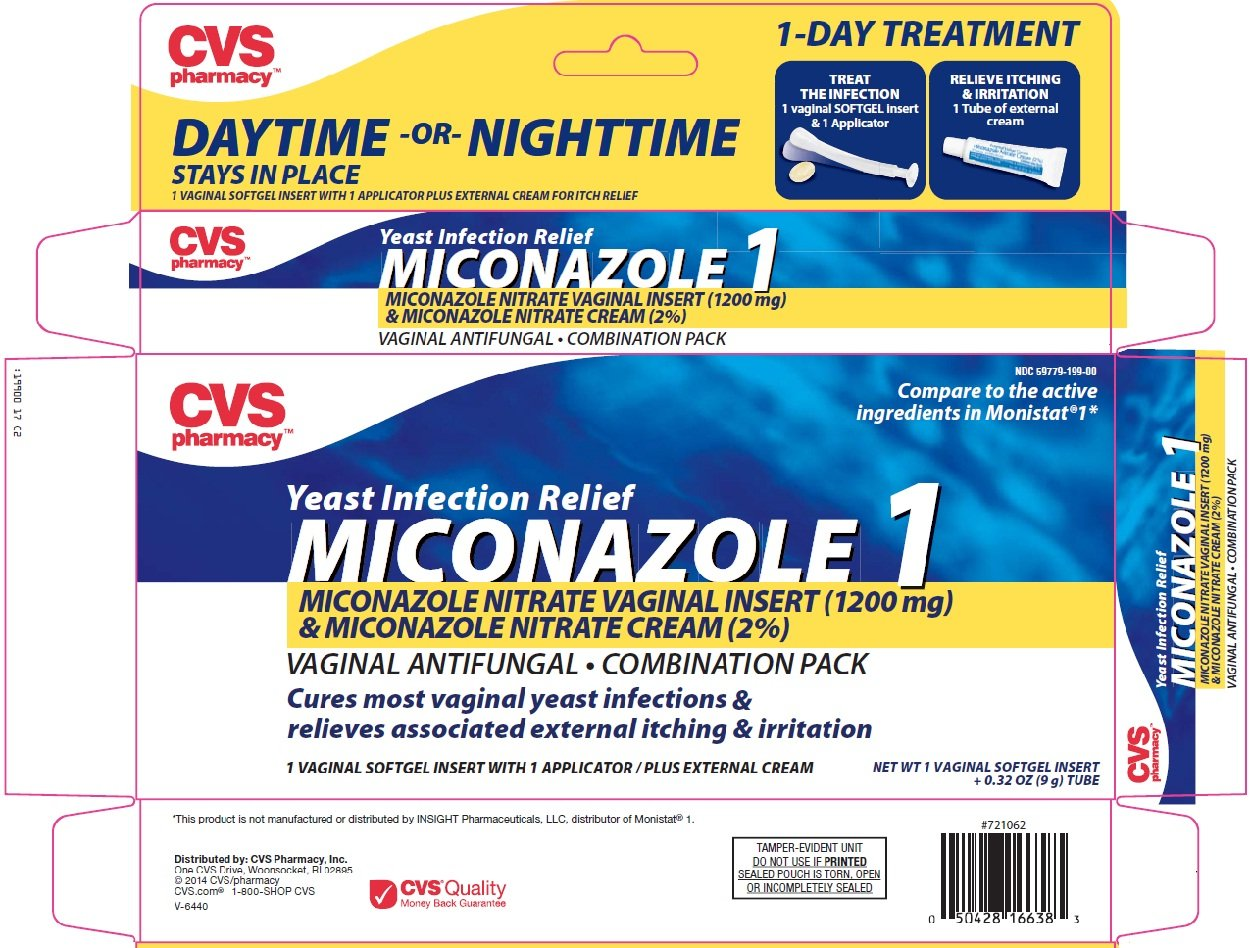 Miconazole 1 yeast infection relief (CVS Pharmacy ...