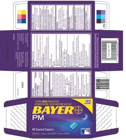 Bayer PM (Bayer HealthCare LLC Consumer Care) ASPIRIN ...