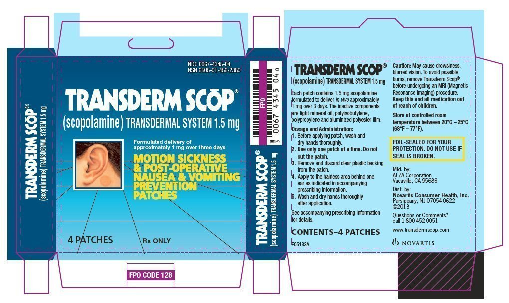 Scopolamine Transdermal Patch Information - anslitnecsogoo