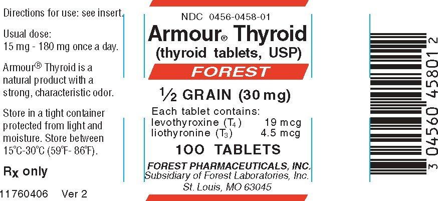 Armour Thyroid - FDA prescribing information side effects ...