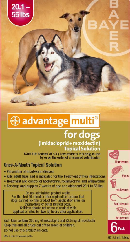 Advantage Multi for Dogs - FDA prescribing information ...