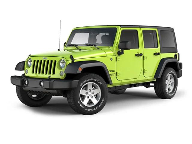 Wrangler Sport 2016 Hyper Jeep Green