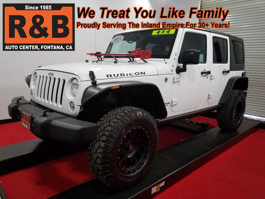 medium resolution of 2015 jeep wrangler unlimited lifted 4x4 rubicon