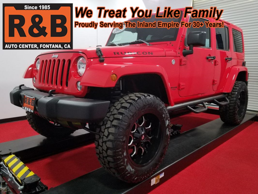 small resolution of 2015 jeep wrangler unlimited 4x4 lifted rubicon