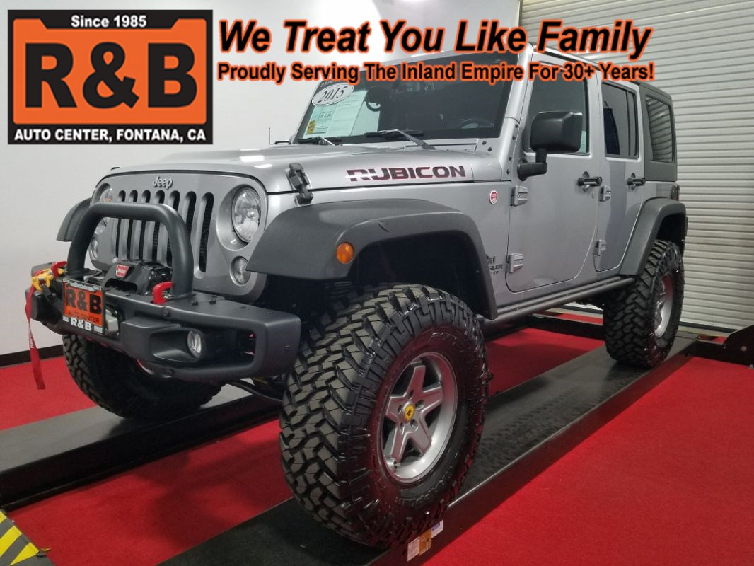 small resolution of 2015 jeep wrangler unlimited rubicon hard rock lifted 4x4