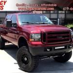 Sold 2000 Ford Super Duty F 250 Xlt 7 3l Diesel 4x4 Lifted Crew Cab In El Cajon