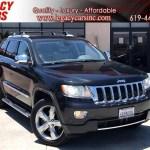 Sold 2011 Jeep Grand Cherokee Overland 5 7l Hemi V8 W Nav Pano Sunroof In El Cajon