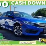 Sold 2018 Honda Civic Sedan Lx In Fresno