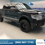 Sold 2014 Ford F 150 Platinum Lifted In Webster