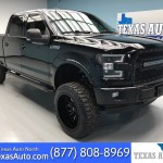 Sold 2017 Ford F 150 Lariat Lifted Rear Cam Sunroof In Houston