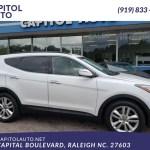 Sold 2013 Hyundai Santa Fe 2 0t Sport In Raleigh